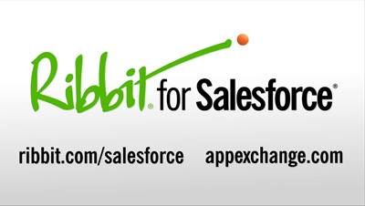Ribbit For SalesForce video frame grab