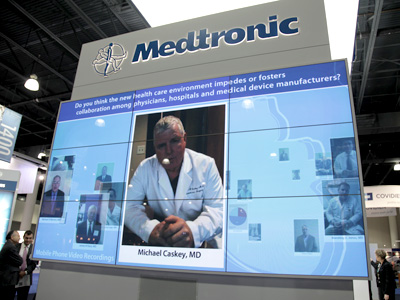 Medtronic STS Face to Face Exhibit