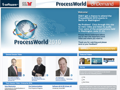 sAG ProcessWorld OnDemand screenshot